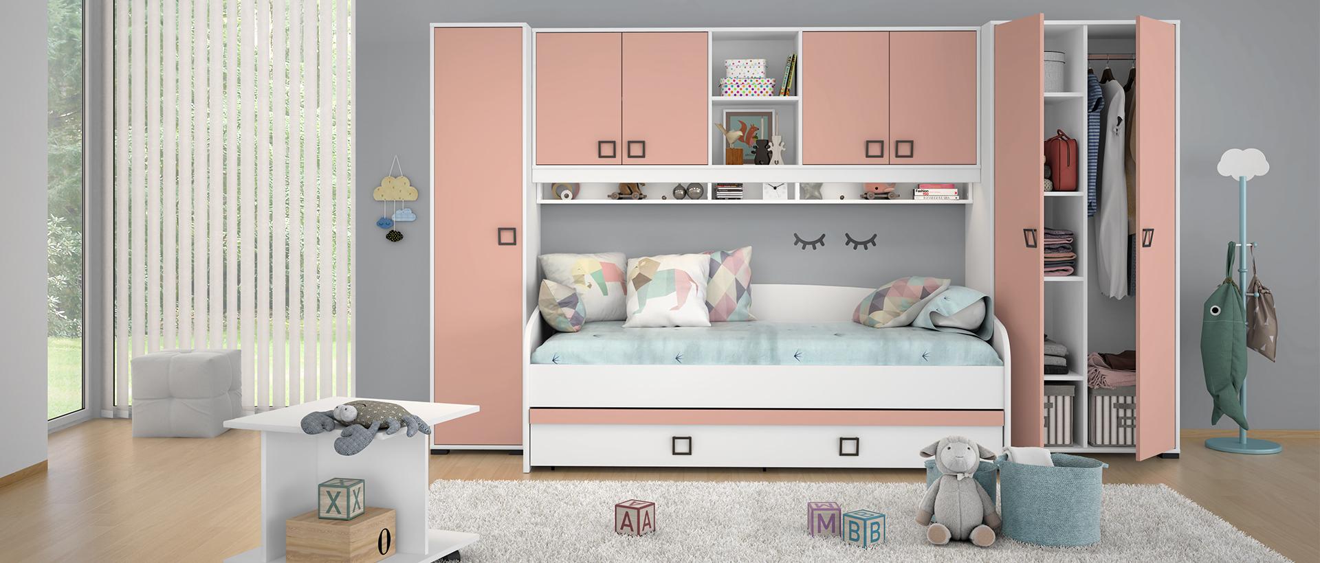 Dječje sobe za djevojčice