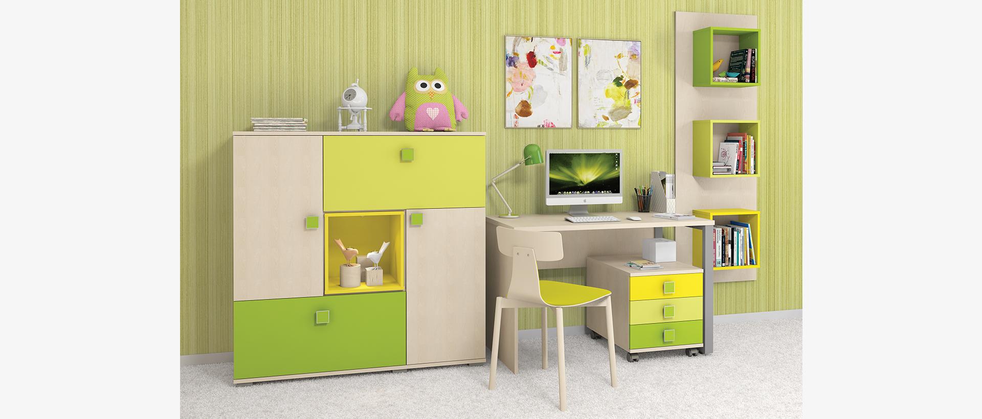 Oprema za uređenje dječje sobe