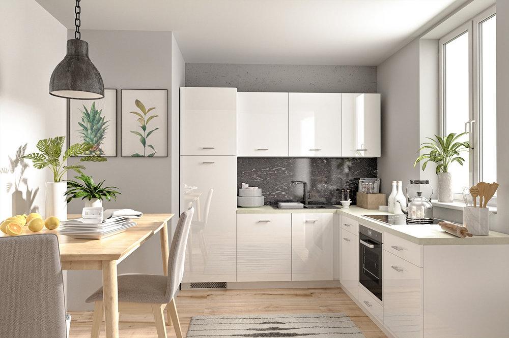 Kuhinja - najpoželjnija prostorija u apartmanu